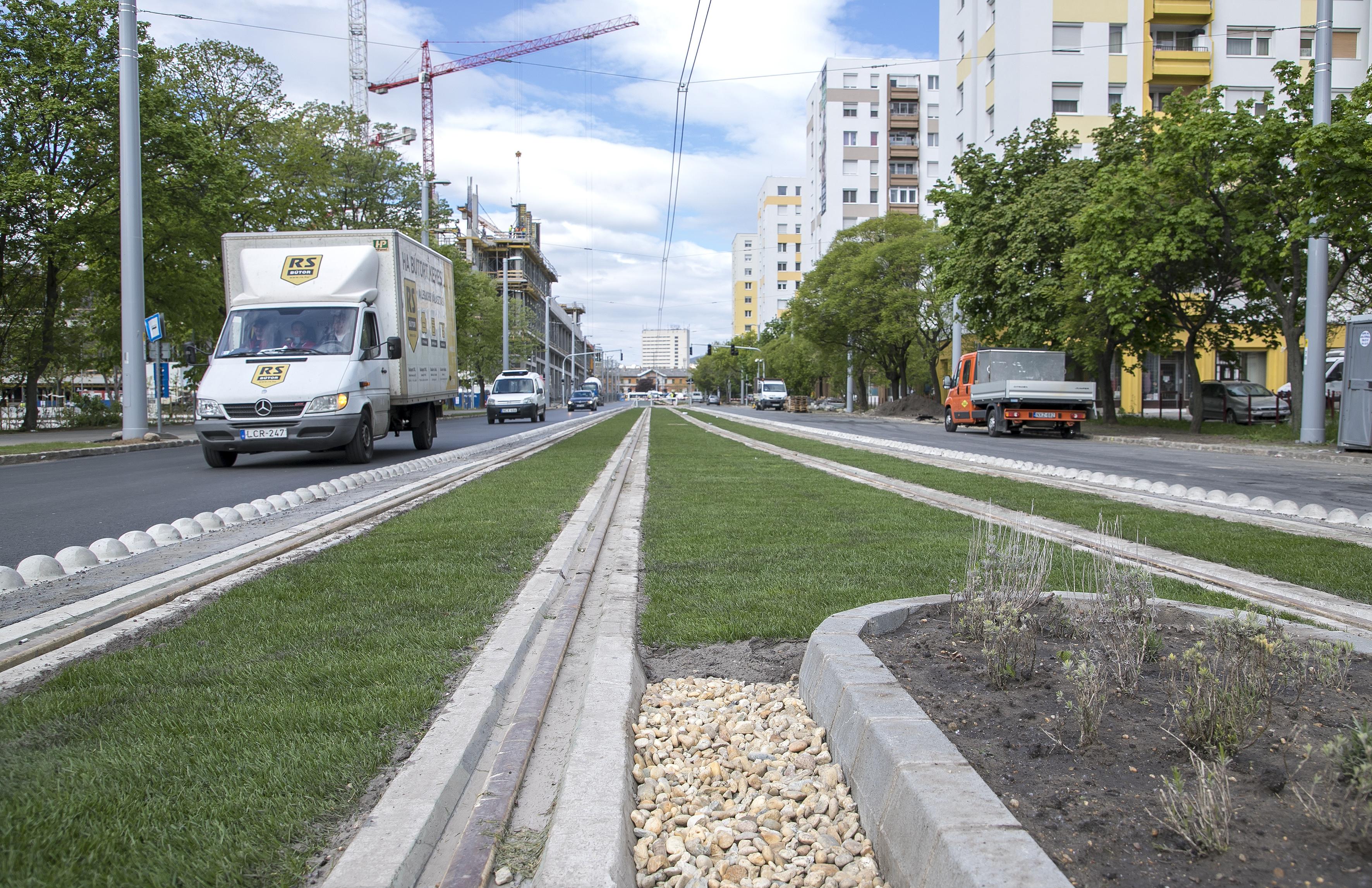 Nyáron indulhat a forgalom az 1-es villamos új szakaszán