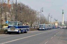 Százéves a budapesti autóbusz-közlekedés