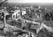 1945. Kilátás a Kelenhegyi út 50-től a Feneketlen-tó felé. Fortepan/Kramer István Dr/Kunszt János felvétele