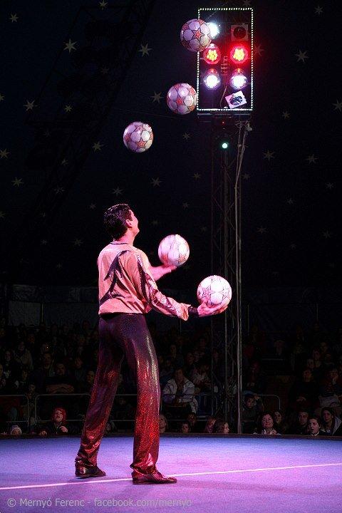 A kerületben járt az Exit cirkusz