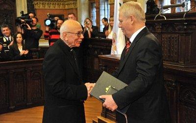 Dr. Kállay Emil piarista szerzetes (Fotó: budapest.hu)