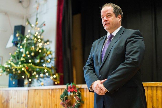 Karácsonyi körúton járt a polgármester