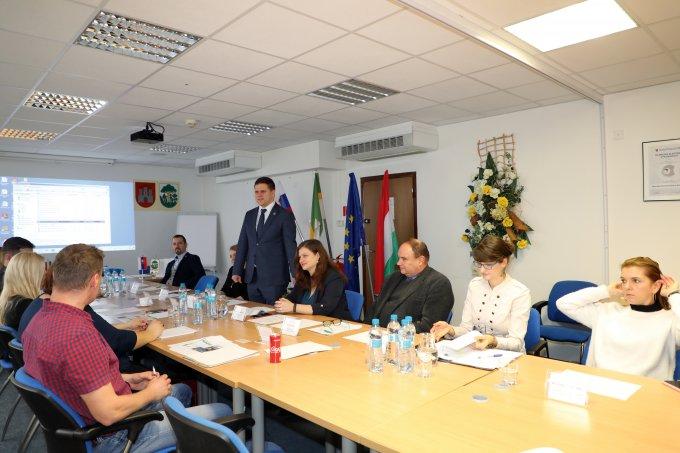 Projekttalálkozó Pozsonyban, 2019. december 9.