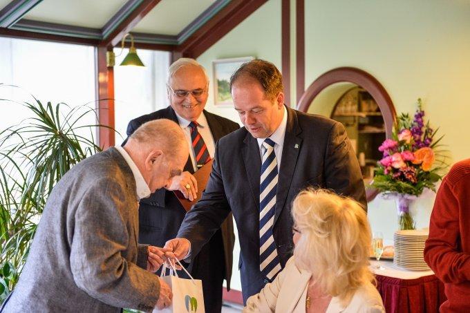 A kerület díszpolgára, Bodrogi Gyula 80 éves