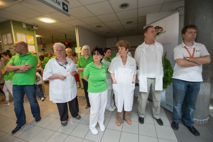 Tömegeket vonzott a kerületi egészségnap