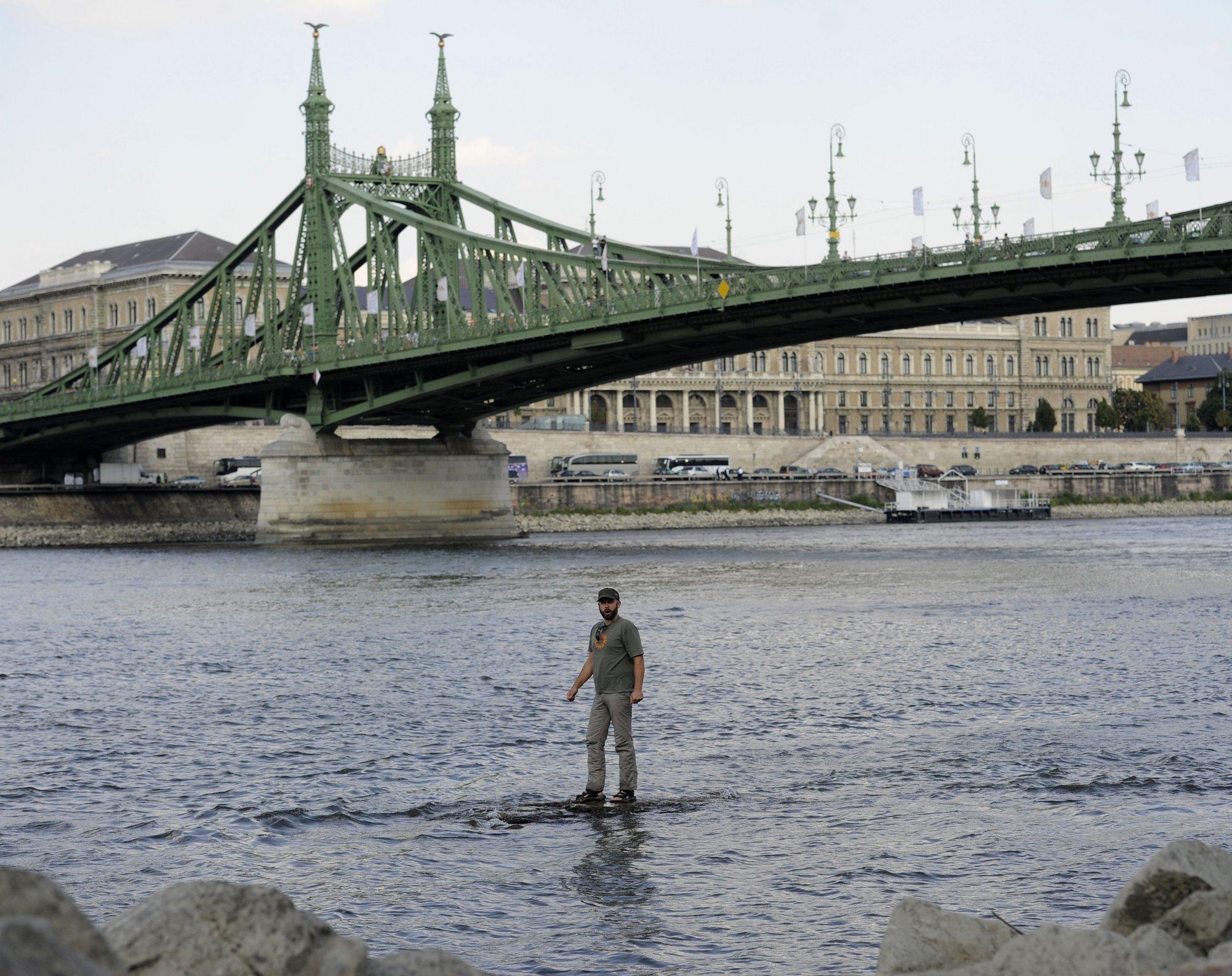 Gondot jelent a Duna alacsony vízszintje