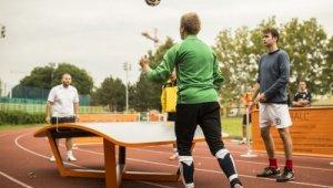 A teqball volt a sportnap újdonsága