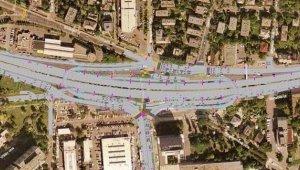 Kezdődik a Budaörsi úti kétszintes közúti csomópont építése