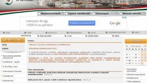 Hamisítják a NAV weboldalát (forrás:origo.hu)