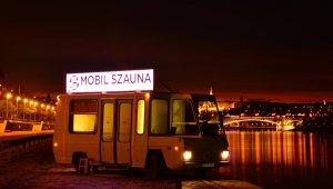 Mobil szaunából a Gellért téren