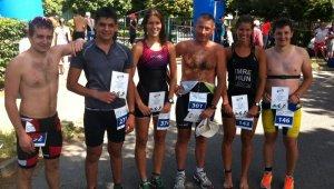 Újbudaiak szereztek érmet a Vasi Vasember triatlonversenyen