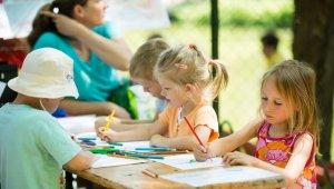 Gyereknapot tartottak a Kék-tó téren